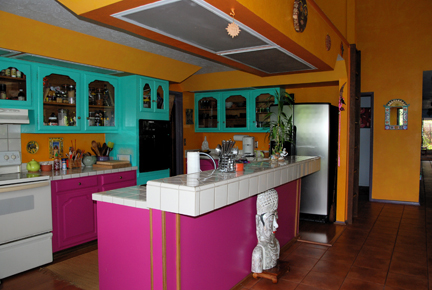 kitchen remodel designs colorful kitchen